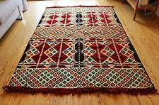 135 cm x 200 cm Orientalischer Teppich,Rug,Kelim,Carpet aus Damaskunst S 1-4-26