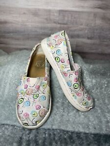 Size 11 ~ Toddler Shoes TOMS Alpargata Pink Donut Print