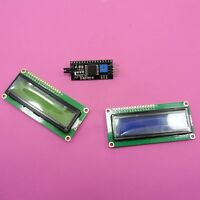 IIC/I2C Serial Adapter Module With LCD 1602 Display Blue or Green Screen Arduino