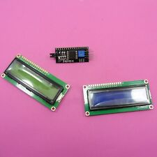 Modulo Adattatore Seriale IIC/I2C con display LCD 1602 Schermo blu o verde Arduino