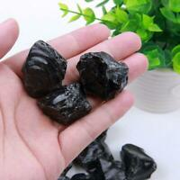 3-5cm Rough Natural Black Obsidian Tumbled Gemstone Healing Crystal Stone