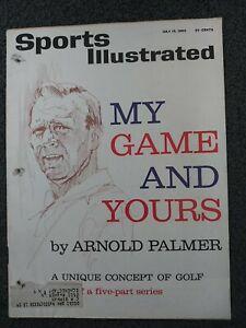 Golf - Arnold Palmer - 1963 Sports Illustrated Magazine - Complete
