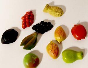 Vintage Refrigerator Magnets Kitchen Fruits Vegetables