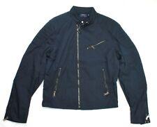 Ralph Lauren Mens Biker lined Jacket Navy Blue Small RRP £519