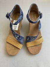 e9331a4089c Tom s Wedge Heels Women s 5.5 US Shoe Size (Women s) for sale