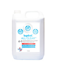 24 Hour Disinfectant Cleaner Stain and Odour Remover Byotrol All Clear 5 Litre