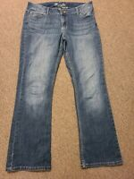 Wrangler Cowgirl Rodeo Boot Cut Medium Wash Mid Rise Stretch 13x32  09MWZDO