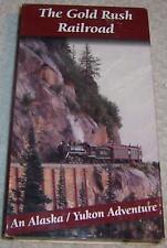 The Gold Rush Railroad Vhs Video Alaska/ Yukon Adventure train