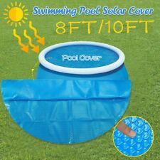 8/10/12/FT Round Blue Solar Cover Blanket Sheet for Above Ground Swimming Pool