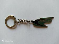 Porte-clés émaillé SIMCA Automobile P. LE BAUD vert keychain vintage Italie 60