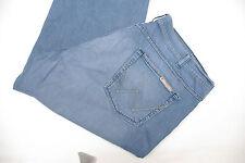 P678/17 Wrangler Unisex Straight Leg Regular Fit Blue Jeans size W42 L32