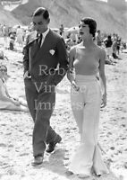 Vintage No Bra Gal Stylish on Beach Photo 1920s Jazz Prohibition Roaring 20s era