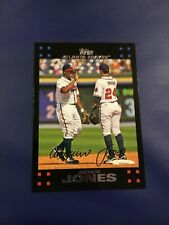 2007 Topps # 490 ANDRUW JONES Atlanta Braves Set Break MINT