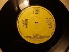 Tammy Wynette......D.I.V.O.R.C.E........45rpm.....Country..