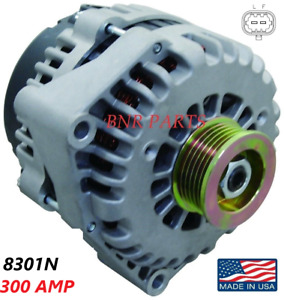 300 AMP 8301N Alternator High Output Chevy GMC Hummer Cadillac 2 pin NEW HD