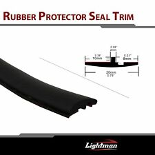"Sealed Strip Trim Front Rear Window Windshield Sunroof Triangular 216"" Black"