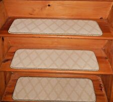 "13 STEP 9"" X 30"" + Landing 29'' x 30'' Stair Treads Staircase Woven Wool CARPET."