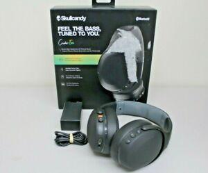 Skullcandy Crusher Evo Wireless Over-Ear Headset - True Black