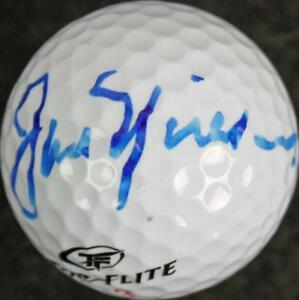 Jack Nicklaus Authentic Signed Top Flite Golf Ball Autographed JSA #X06177