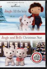 Jingle All the Way and Jingle and Bell's Christmas Star (DVD): Hallmark  NEW