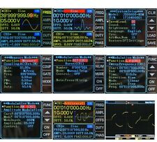 1 Set 60mhz Dual-channel DDS Arbitrary Waveform Function Signal Generator YFQ