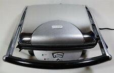 DeLonghi CGH800-U Panini Sandwich Maker Grill Silver