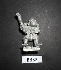 Warhammer Citadel marauder miniaturas MM20 orco con martillo 1988 B 332