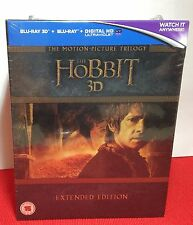 The Hobbit:The Motion Picture Trilogy - Extended Edition [3D Blu-ray+Blu-ray]NEW