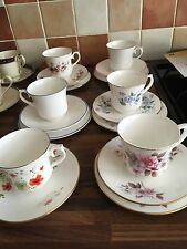 royal doulton cups & saucers