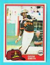 1X OZZIE SMITH 1981 OPC #254 NRMT O Pee Chee Padres Lots Available