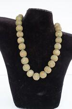 Trade Bead Necklace, Millifiori, Venetian/Afican/Batavian, 30 Beads