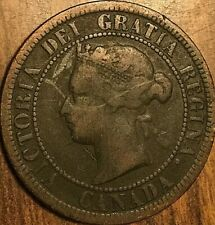1882 H CANADA LARGE CENT LARGE 1 CENT PENNY COIN