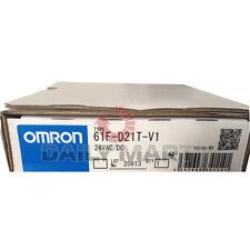 New in Box Omron 61F-D21T-V1 Conductive Liquid Level Controller 100~240VAC SPDT