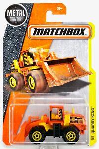 2016 Matchbox #58 Quarry King™ ORANGE / YELLOW / AW CONSTRUCTION / MOC