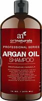 Art Naturals Daily Organic Argan Oil Shampoo 16 oz | Sulfate Free| For all hair