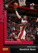 RARE KENDRICK NUNN 2019-2020 Panini Instant #70 RC NBA Rookie SP MIAMI HEAT