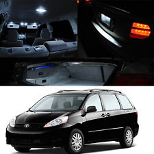 For 04-10 Toyota Sienna Xenon White Premium LED Interior Light Package Kit