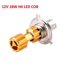 18W H4 COB LED Bulb HID White Hi/Low Beam Motorcycle Headlight 6500K High Power
