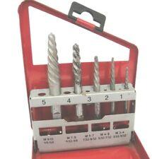 Vintage Craftsman OEM Bolt Extractor Set 25467 in Metal Case 5 Piece