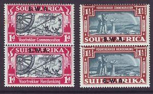 South West Africa 1938 SC 133-134 MH Set Vootrekker