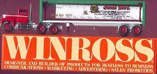 Garosi Bros Collectible Flea Market clear Winross Truck