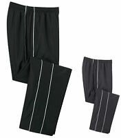 MEN'S LINED, ATHLETIC STYLE, WIND / WARM UP PANTS, POCKETS, S M L XL 2X 3X 4X