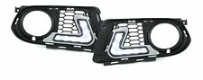 Front fog light grill with LED DRL daytime lights FOR BMW 3 Series E92 fr 10