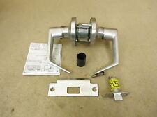 Heavy Duty Door Lever & Handle Set Ada Satin Chrome Passage Door Knob L252D