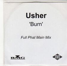 (ED665) Usher, Burn - Full Phat Main Mix - DJ CD