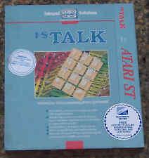 I*S/IS TALK Communications Soft Atari 520/1040 ST/STE NIB New