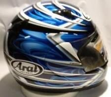 Arai Quantum 2 Spike Blue motorcycle helmet-full face-Yamaha colors NIB