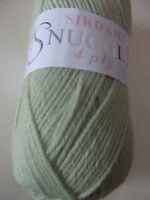 Five x 50g Balls of Sirdar Snuggly 4ply Baby Wool/Yarn for Knitting/Crochet