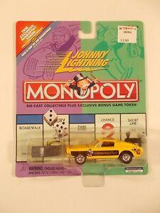 Johnny Lightning 1/64 Monopoly Community Chest Mustang