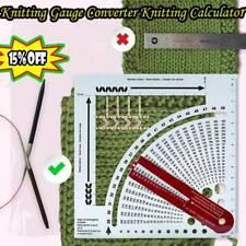 Knitting Gauge Converter Knitting Calculator Counting Frame New